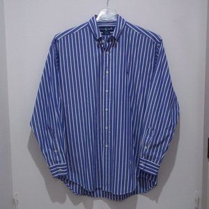 Ralph Lauren Blake Shirt Long Sleeve Striped 2011